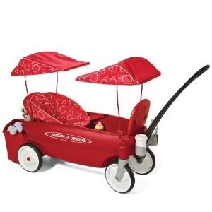 Toy / Game Wonderful Radio Flyer Comfort Embrace Wagon - Cradling Infant Seat With 5Pt Safety Harness front-926781