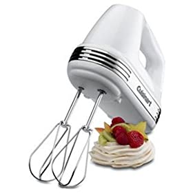 Cuisinart Hand Mixer - 7-speed - Chrome