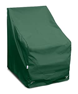 KoverRoos Weathermax 69812 High Back Lounge Chair Cover, 32-Inch Width by 33-Inch Diameter by 40-Inch Height, Forest Green