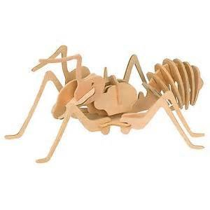 3 D Puzzle - Insect