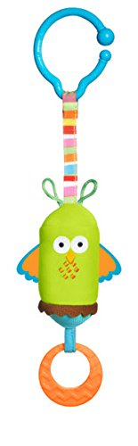 Tiny Love Friend Wind Chime Clip on Toy, Owl - 1