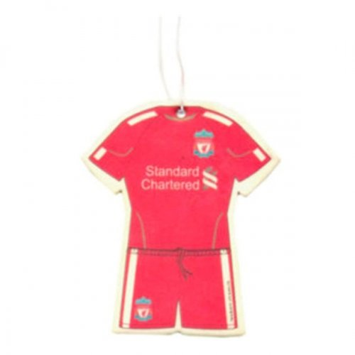 Official Liverpool FC Kit Air Freshener / NEW STYLE KIT LUFTVERBESSERER 2011/12