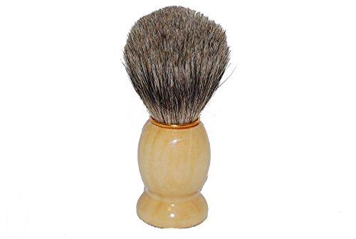 【KING】 ひげブラシ ヒゲブラシ シェービングブラシ アナグマの毛