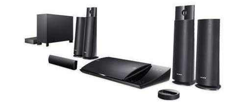 Sony 5.1 Channel Wireless 3D Blu-Ray Home Theater System With Built-In Wi-Fi + Blu-Ray Player And Ipod/Iphone Dock