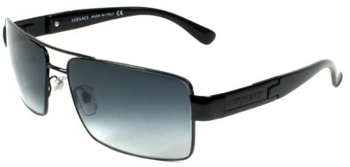 Versace Sunglasses Ve2041 10098G Black Gray Gradient