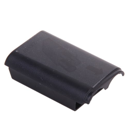 2pcs Black Battery Pack Cover Shell Case Kit for Xbox 360 Wireless Controller (Cover Controller Xbox 360 compare prices)
