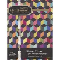 Quiltsmart Tumbling Blocks Classic Pack Printed Fusible Interfacing Pattern