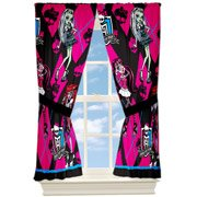 "Monster High ""School Monsters"" Window Drapes by Jay Franco"