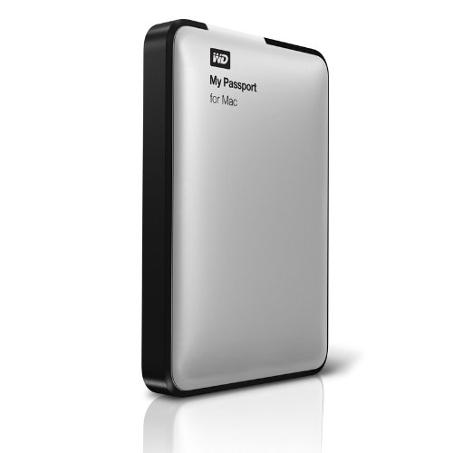 WD My Passport for Mac 2.0TB(Mac用 Time Machine対応 USB 3.0接続)WDBZYL0020BSL-JESN