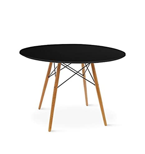 Round Table Tower Black