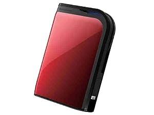 BUFFALO MiniStation Extreme 1 TB USB 3.0 Portable Hard Drive - HD-PZ1U3R Red