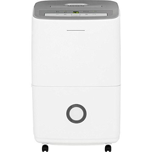 Frigidaire FFAD7033R1 70-Pint Dehumidifier with Effortless Humidity Control, White