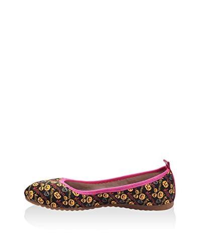 Lizza Shoes Ballerina Lz-6410 [Marrone/Multicolore]
