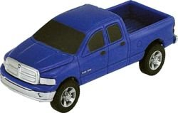"TOMY International Ertl 3"" Dodge Quad Cab, Blue"