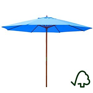 Blue Umbrella 13 Ft For Outdoor Or Patio