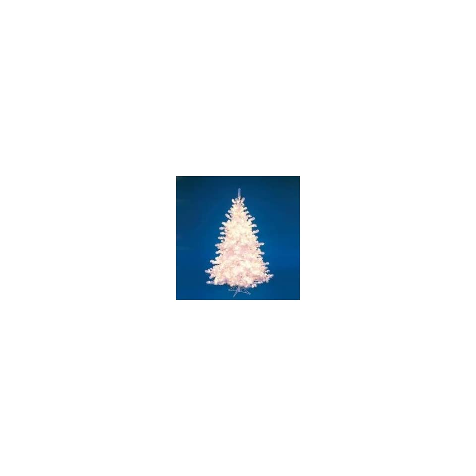 6 Pre Lit Majestic White Christmas Tree   Clear Lights