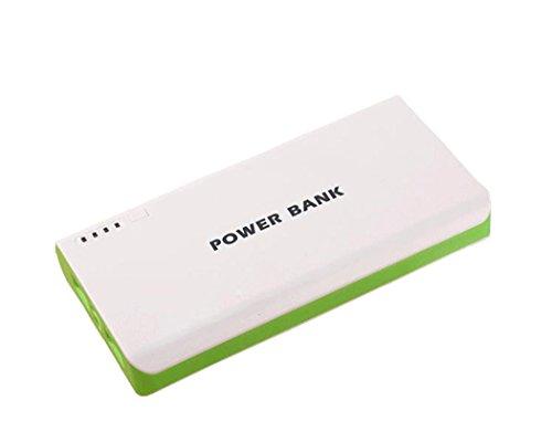 Generisches 50000mAh External Power Bank Backup-Dual-USB-Ladegerät für iPad, iPad 2/3, iPhone 5, iPhone 4, iPhone 4S, iPod, Blackberry, HTC, Android, Samsung (grün)