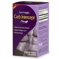 Natrol - Carb Intercept With Phase 2, 120 capsules