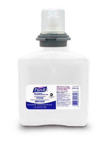 For Sale PURELL 6393-02 E3 Rated Instant Hand Sanitizer, 1200 mL Foam Refill (Case of 2)