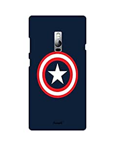 AANADI - Hard Back Case Cover for OnePlus 2 - Superior Matte Finish - HD Printed Cases and Covers