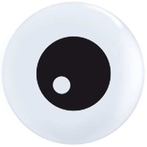 "5"" Friendly Eyeball Top Print"