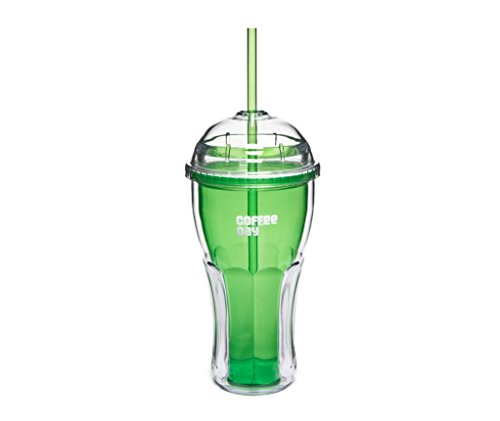 Cafe Coffee Day Café Coffee Day Double Wall Sipper New Green