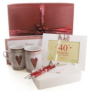 Wedding Gift Ideas Amazon Uk : 40th Ruby Wedding Anniversary Gifts Pack: Amazon.co.uk: Toys & Games