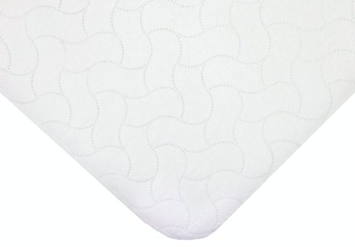 American Baby Company 2 Pack Waterproof Embossed Quilt-Like Lap Pad