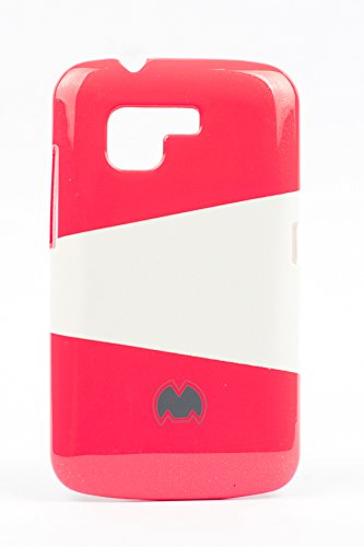 Purple Eyes Generic Dual Color Sgp Hard Back Case Cover Pouch For Micromax Bolt A34 Red available at Amazon for Rs.249