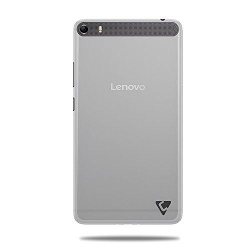 Cool Mango Premium Pudding TPU Back Cover for Lenovo Phab Plus - Flexible Lenovo Phab Plus Case (Sparkling White)