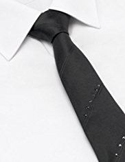 Autograph Pure Silk Skinny Tie MADE WITH SWAROVSKI® ELEMENTS