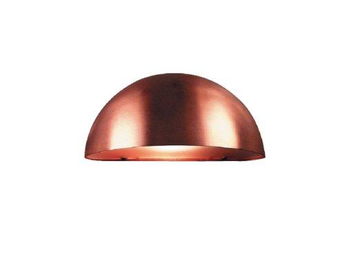 Nordlux Scorpius Maxi Copper Outdoor Garden Flush Wall Light/ Downlight