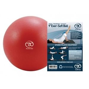 9-Red-Exer-soft-Exercise-Ball-9-Exersoft-Gym-Gymnastics-Fitness-Stretching
