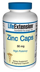 Zinc Caps High Potency (Zink) 50mg, 90 V-Kaps.