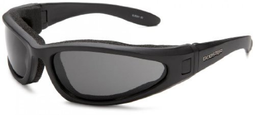 Bobster Low Rider Ii Sport Sunglasses,Black Frame/3 Lenses (Smoked, Amber And Clear),One Size
