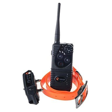A1 Aetertek 216S-550W 1-1 Waterproof 550 Meters Remote Dog Training Electric Shock Vibration Collar Anti Bark - Black Black