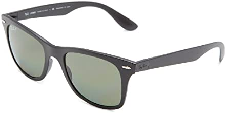 Ray-Ban Men's Wayfarer Liteforce Liteforce Wayfarer Sunglasses, Black