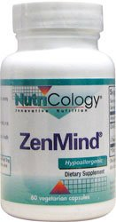 Nutricology - Zenmind 60 Vcaps