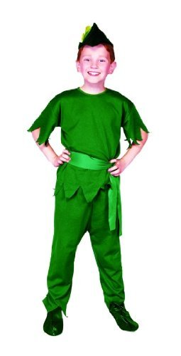 Child's Peter Pan Elf Costume Size Large (12-14)