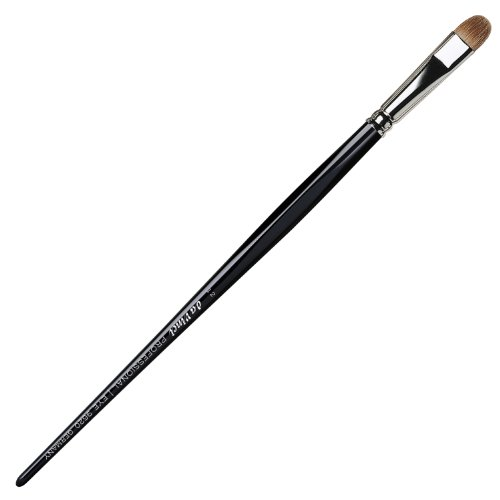 Da Vinci Series 9620 Professional Russian Red Sable Oval Eye Shadow Brush Size 12 14.1 Gram