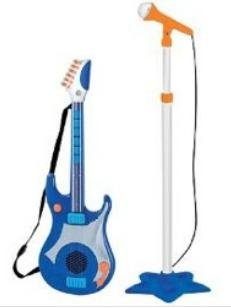 Discovery Kids Microphone Stand & Guitar Set