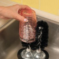 Jiffy Deluxe Suction Glass Washing Brushes front-584782