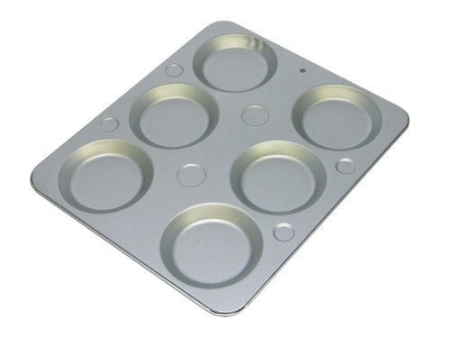 OvenStuff Non-Stick 6-Cup Muffin Caps Pan (Muffin Top Pan 6 compare prices)