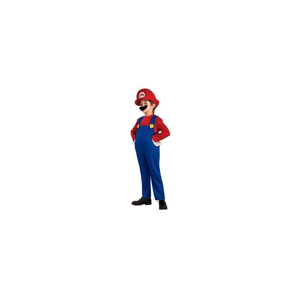 Super Mario Bros. Costumes    Mario Deluxe Child Costume