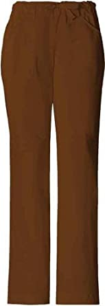 Skechers 25008 Women's Drawstring Scrub Pant Chocolate Large
