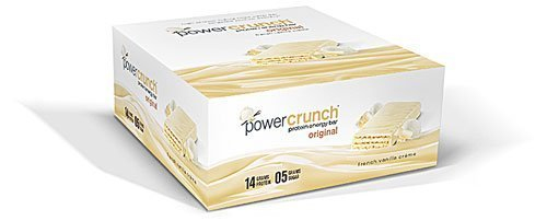BioNutritional Research Group Power Crunch Protein Energy Bar French Vanilla Creme -- 12 Bars by BioNutritional Research Group