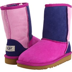 UGG Kids Classic Patchwork Cactus Flower Multi