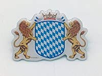 German Oktoberfest Hat Pin (Bavarian Coat of Arms) by European Heritage Gifts