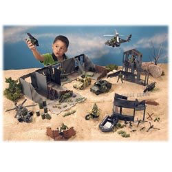 Buy Low Price Ever Sparkle Industrial 150-Piece Battlefield Playset Figure (B0006I8MSI)