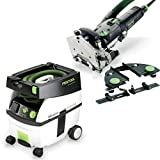 Festool DF 500 Q Domino Set with T-LOC CT 48 Dust Extractor Package